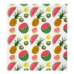 Fruits Pattern Shower Curtain 66  x 72  (Large)