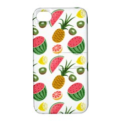 Fruits Pattern Apple Iphone 4/4s Hardshell Case With Stand