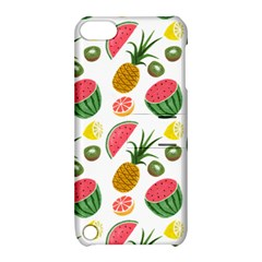 Fruits Pattern Apple Ipod Touch 5 Hardshell Case With Stand