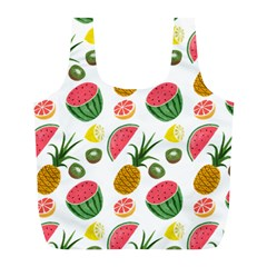 Fruits Pattern Full Print Recycle Bags (l)