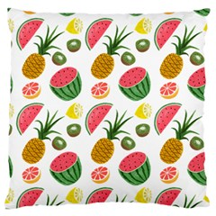 Fruits Pattern Standard Flano Cushion Case (one Side)