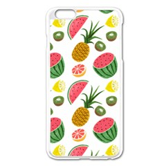Fruits Pattern Apple Iphone 6 Plus/6s Plus Enamel White Case