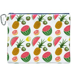 Fruits Pattern Canvas Cosmetic Bag (xxxl)