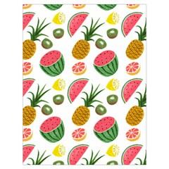 Fruits Pattern Drawstring Bag (Large)