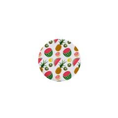 Fruits Pattern 1  Mini Magnets