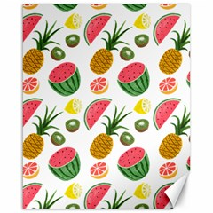 Fruits Pattern Canvas 16  x 20
