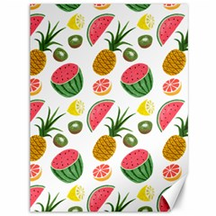 Fruits Pattern Canvas 36  x 48