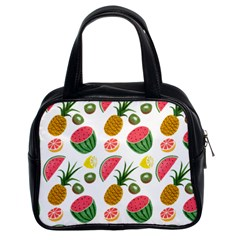 Fruits Pattern Classic Handbags (2 Sides)