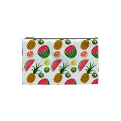 Fruits Pattern Cosmetic Bag (small)