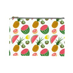 Fruits Pattern Cosmetic Bag (Large)