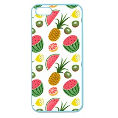 Fruits Pattern Apple Seamless iPhone 5 Case (Color)