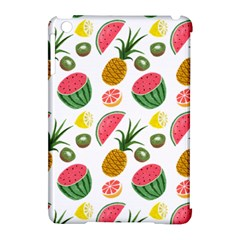 Fruits Pattern Apple Ipad Mini Hardshell Case (compatible With Smart Cover)