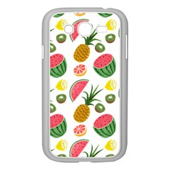 Fruits Pattern Samsung Galaxy Grand Duos I9082 Case (white)