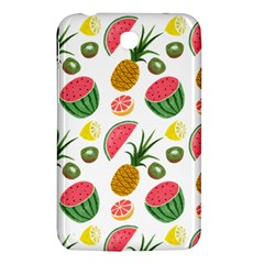 Fruits Pattern Samsung Galaxy Tab 3 (7 ) P3200 Hardshell Case