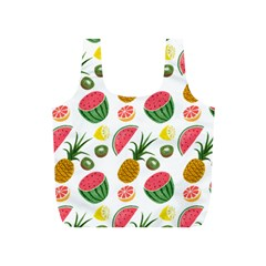 Fruits Pattern Full Print Recycle Bags (s)