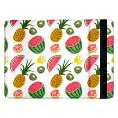 Fruits Pattern Samsung Galaxy Tab Pro 12 2  Flip Case