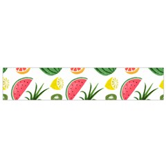 Fruits Pattern Flano Scarf (small)