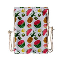 Fruits Pattern Drawstring Bag (small)