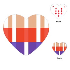 Compound Grid Playing Cards (Heart)