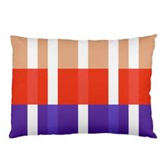 Compound Grid Pillow Case