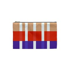 Compound Grid Cosmetic Bag (Small)