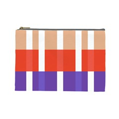 Compound Grid Cosmetic Bag (Large)