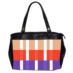 Compound Grid Office Handbags (2 Sides)