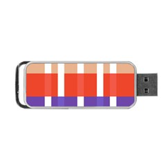 Compound Grid Portable Usb Flash (two Sides)