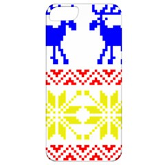 Jacquard With Elks Apple iPhone 5 Classic Hardshell Case