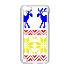 Jacquard With Elks Apple Ipod Touch 5 Case (white)