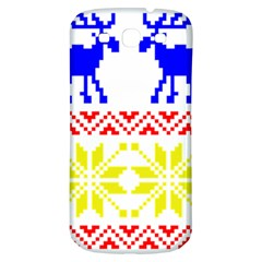 Jacquard With Elks Samsung Galaxy S3 S Iii Classic Hardshell Back Case