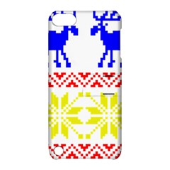 Jacquard With Elks Apple Ipod Touch 5 Hardshell Case With Stand