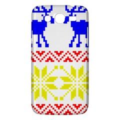 Jacquard With Elks Samsung Galaxy Mega 5 8 I9152 Hardshell Case