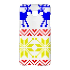 Jacquard With Elks Samsung Galaxy A5 Hardshell Case
