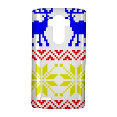 Jacquard With Elks LG G4 Hardshell Case