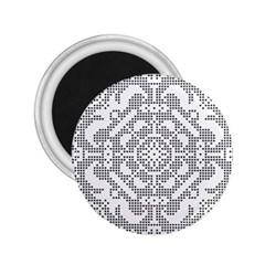 Mosaic Pattern Cyberscooty Museum Pattern 2 25  Magnets