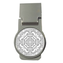 Mosaic Pattern Cyberscooty Museum Pattern Money Clips (round)