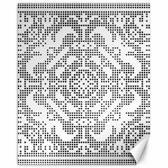 Mosaic Pattern Cyberscooty Museum Pattern Canvas 16  X 20