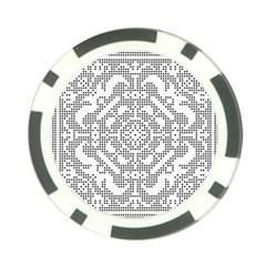 Mosaic Pattern Cyberscooty Museum Pattern Poker Chip Card Guard