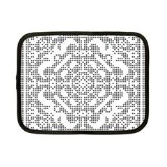 Mosaic Pattern Cyberscooty Museum Pattern Netbook Case (Small)
