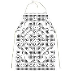 Mosaic Pattern Cyberscooty Museum Pattern Full Print Aprons