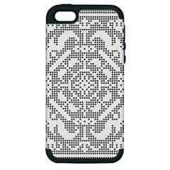 Mosaic Pattern Cyberscooty Museum Pattern Apple Iphone 5 Hardshell Case (pc+silicone)
