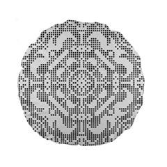 Mosaic Pattern Cyberscooty Museum Pattern Standard 15  Premium Round Cushions