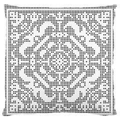 Mosaic Pattern Cyberscooty Museum Pattern Large Flano Cushion Case (two Sides)