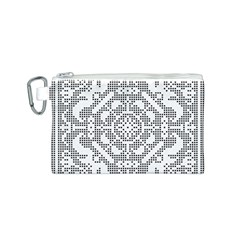 Mosaic Pattern Cyberscooty Museum Pattern Canvas Cosmetic Bag (s)