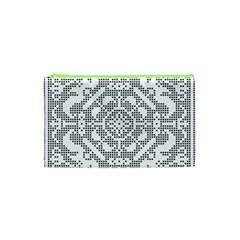 Mosaic Pattern Cyberscooty Museum Pattern Cosmetic Bag (xs)