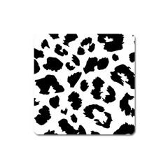 Leopard Skin Square Magnet