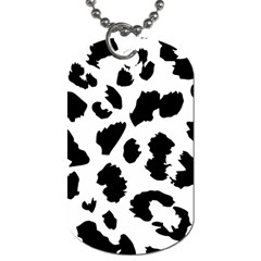 Leopard Skin Dog Tag (two Sides)