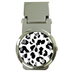 Leopard Skin Money Clip Watches