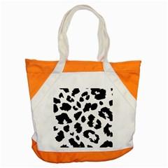 Leopard Skin Accent Tote Bag